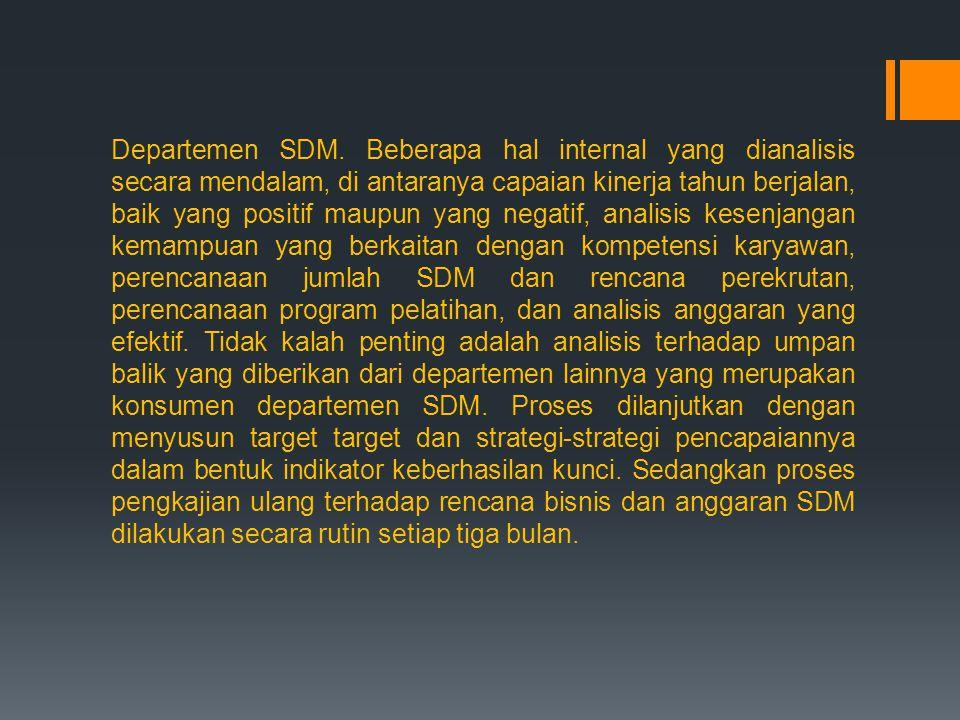 Departemen SDM.