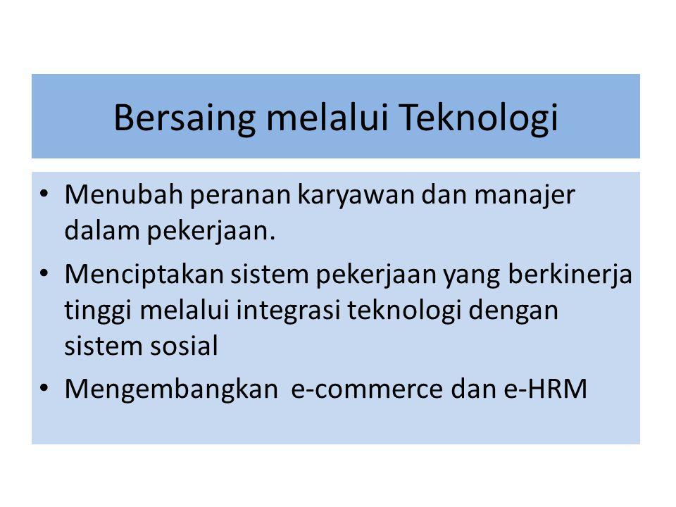 Bersaing melalui Teknologi