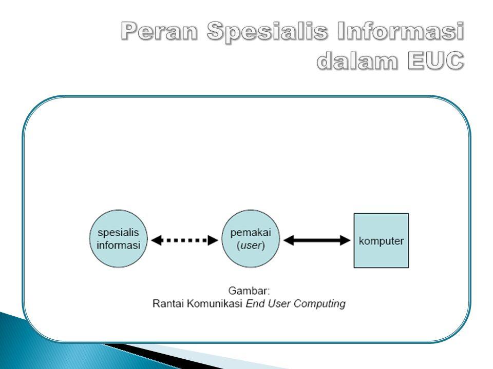 Peran Spesialis Informasi dalam EUC