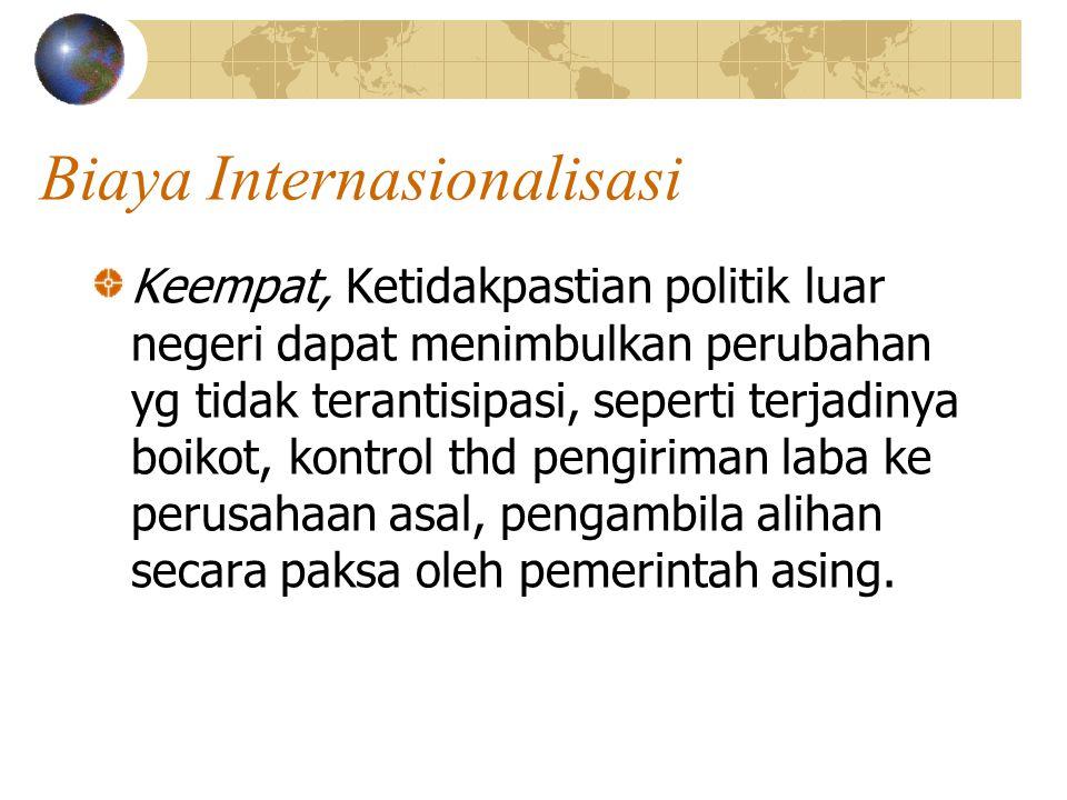 Biaya Internasionalisasi