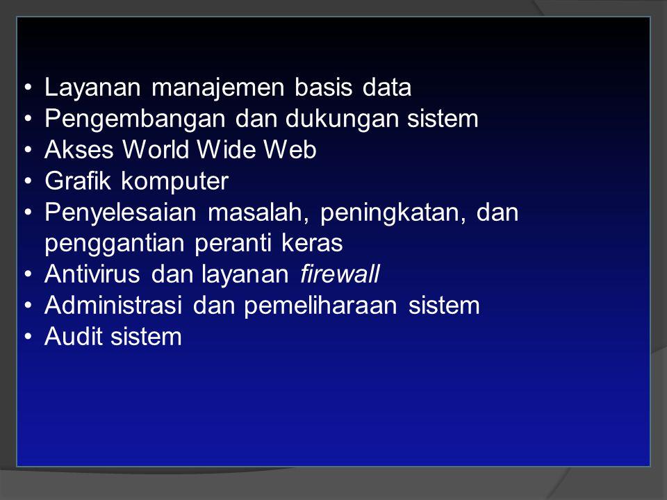Layanan manajemen basis data