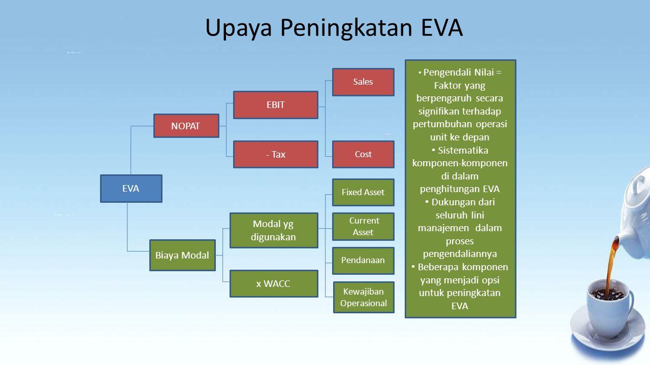 Upaya Peningkatan EVA EBIT