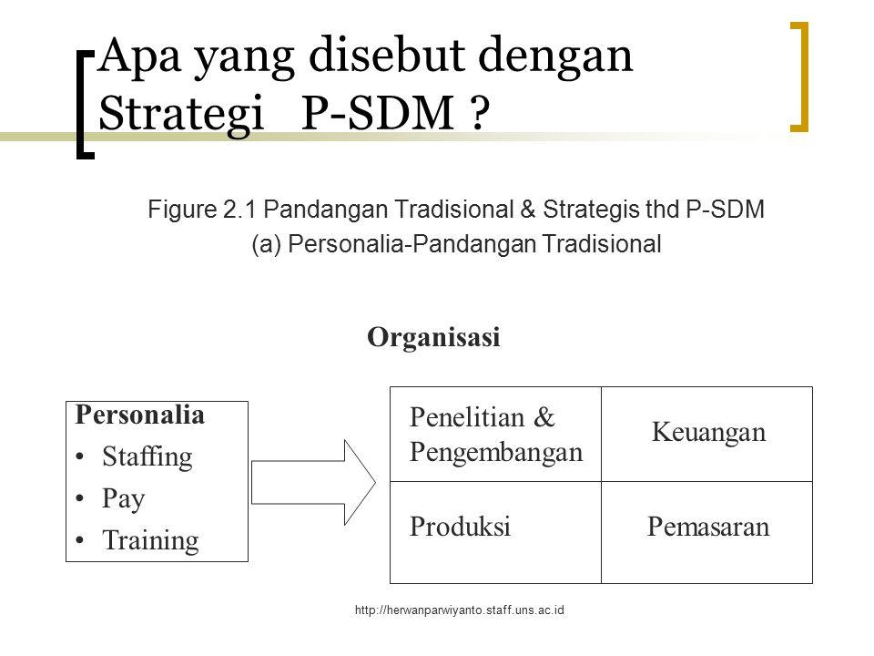Apa yang disebut dengan Strategi P-SDM
