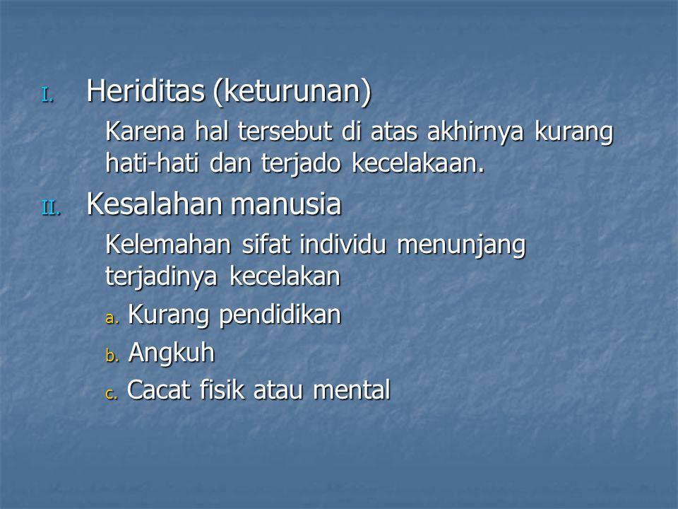 Heriditas (keturunan)