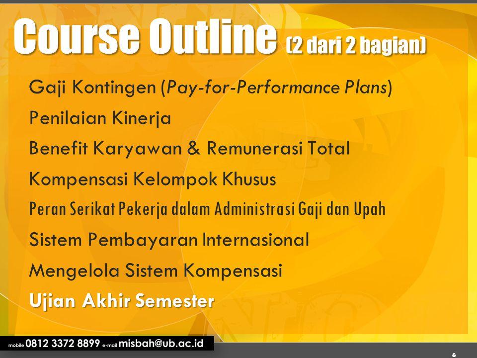 Course Outline (2 dari 2 bagian)