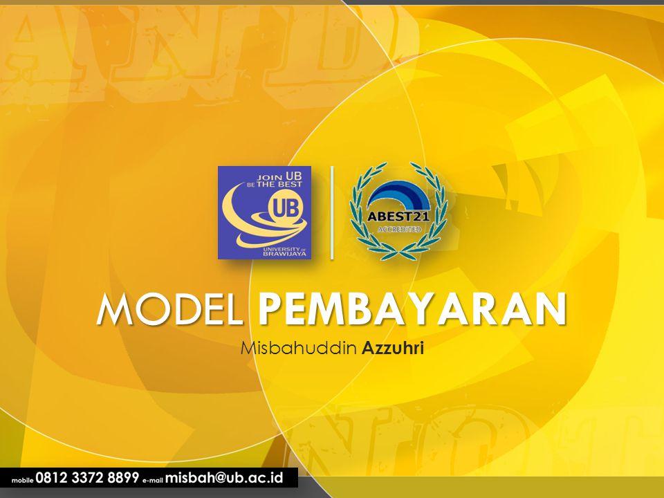 MODEL PEMBAYARAN Misbahuddin Azzuhri