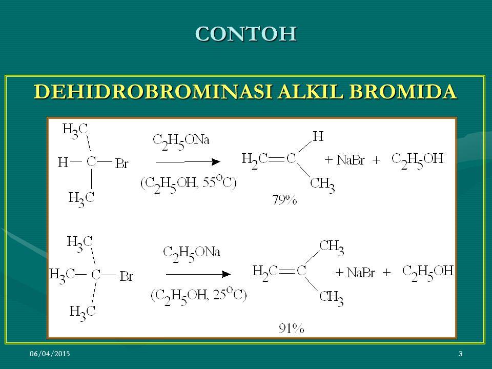 DEHIDROBROMINASI ALKIL BROMIDA