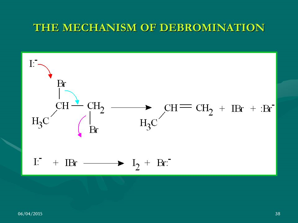 THE MECHANISM OF DEBROMINATION