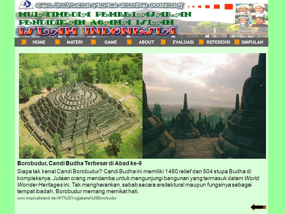 Borobudur, Candi Budha Terbesar di Abad ke-9
