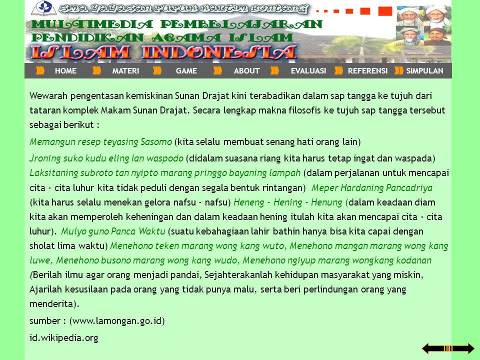 sumber : (www.lamongan.go.id) id.wikipedia.org
