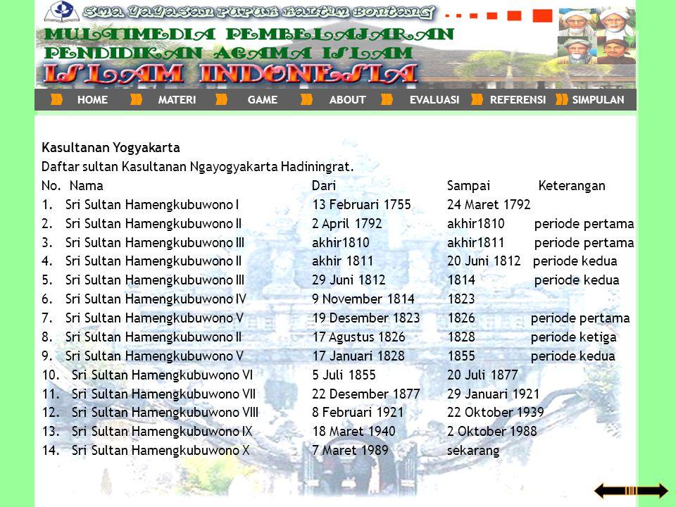 Kasultanan Yogyakarta