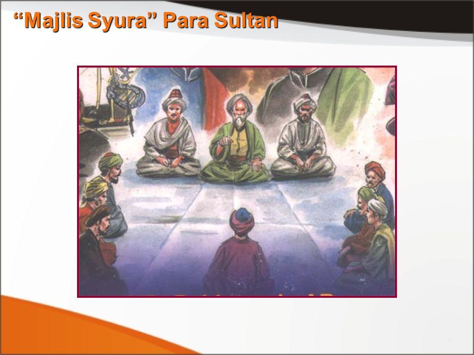 Majlis Syura Para Sultan