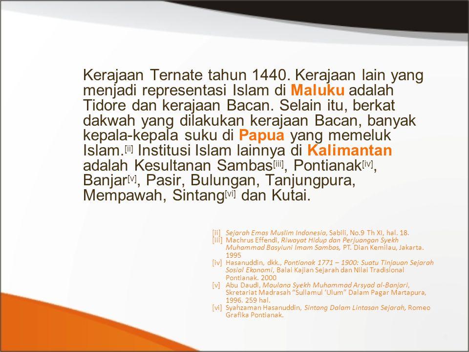 Kerajaan Ternate tahun 1440