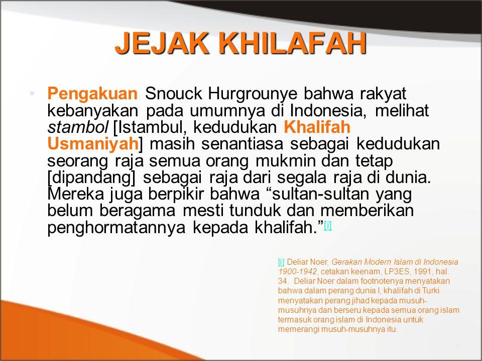 JEJAK KHILAFAH