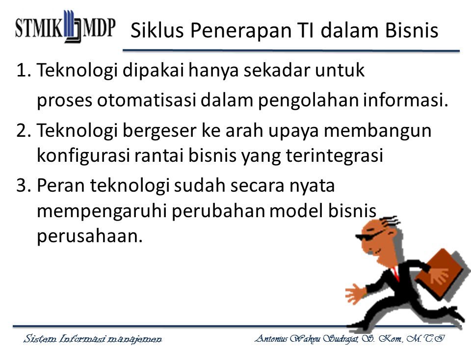 Siklus Penerapan TI dalam Bisnis