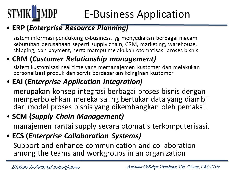 E-Business Application