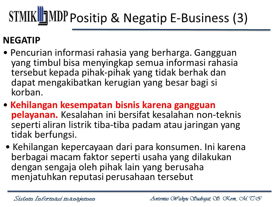 Positip & Negatip E-Business (3)