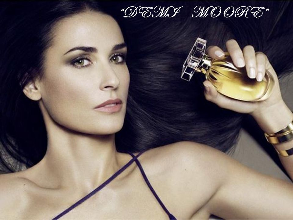 DEMI MOORE Powerpoint Templates