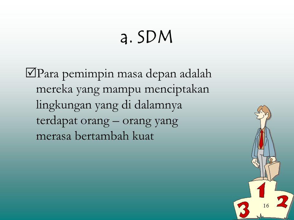 a. SDM