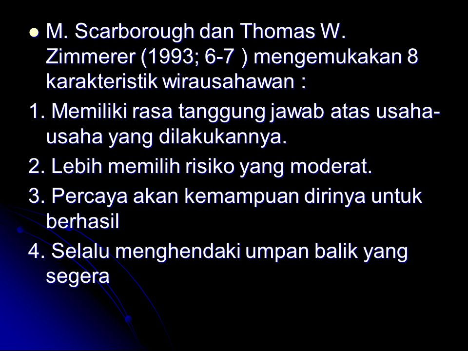 M. Scarborough dan Thomas W