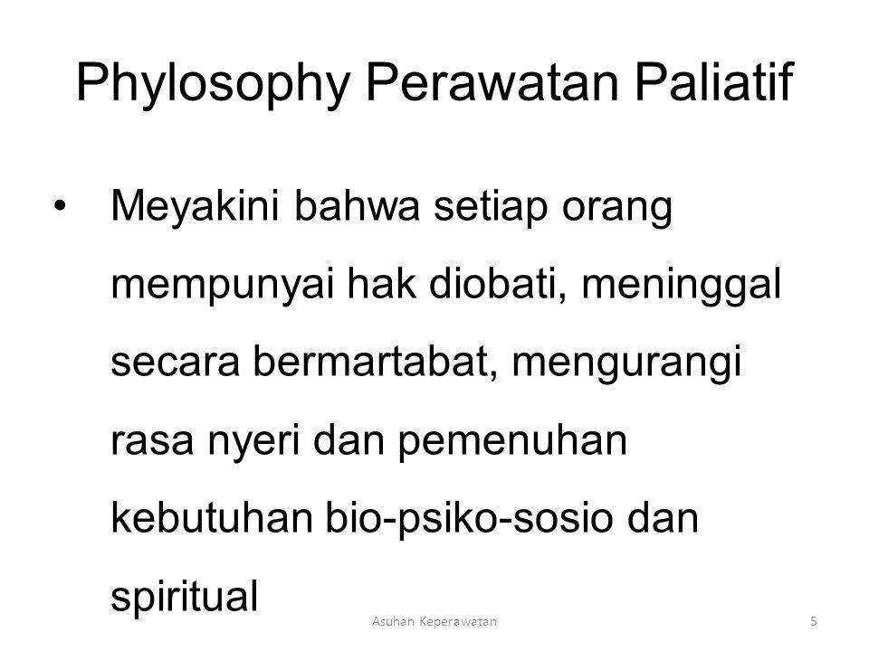 Phylosophy Perawatan Paliatif