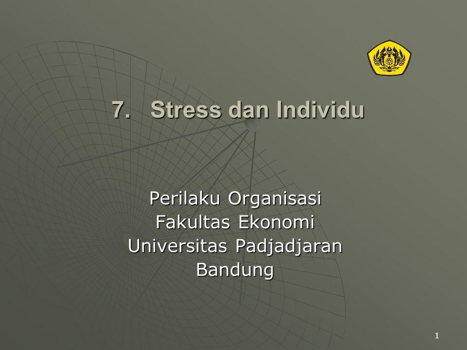 Perilaku Organisasi Fakultas Ekonomi Universitas Padjadjaran Bandung