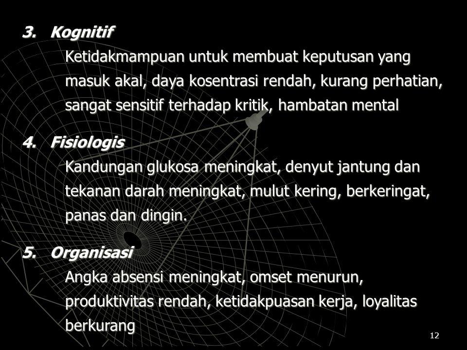 3. Kognitif