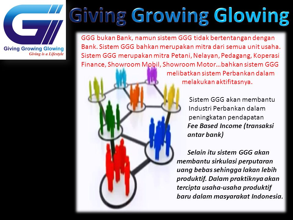 Giving Growing Glowing