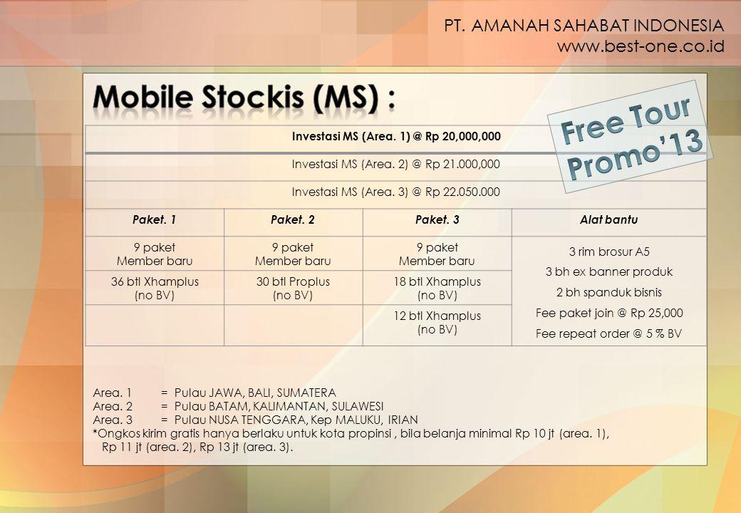 Investasi MS (Area. 1) @ Rp 20,000,000
