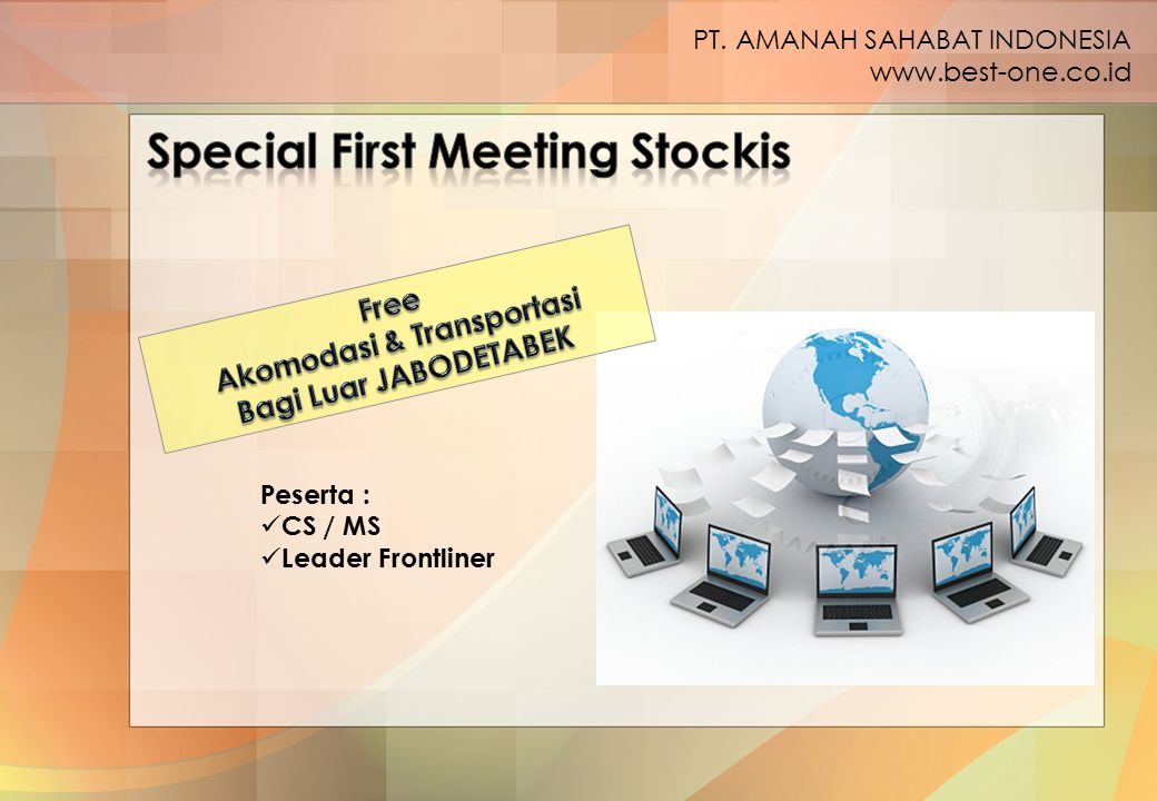 Special First Meeting Stockis Akomodasi & Transportasi