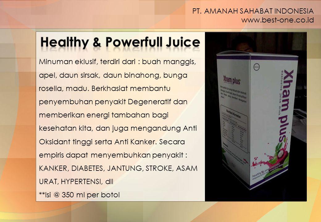 Healthy & Powerfull Juice