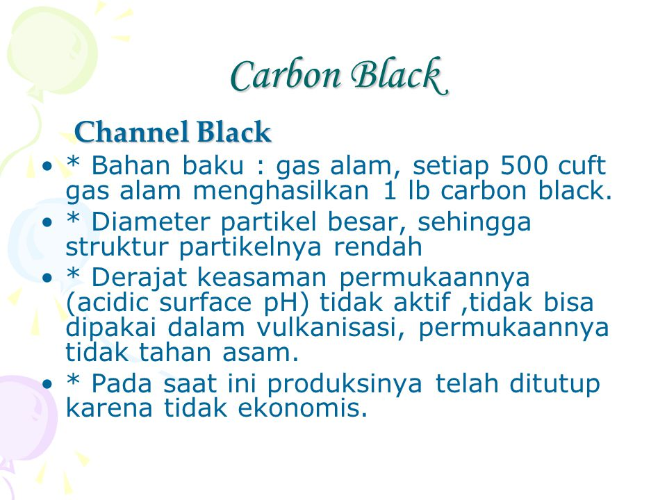 Carbon Black Channel Black