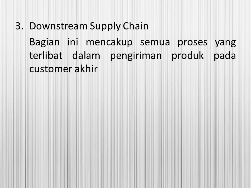 Downstream Supply Chain