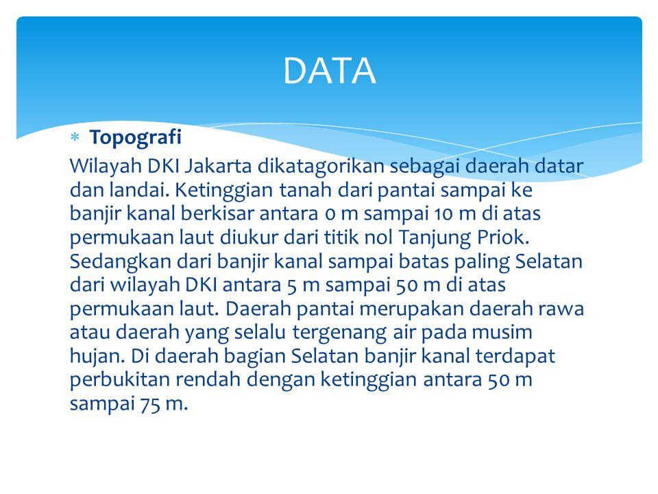 DATA Topografi.