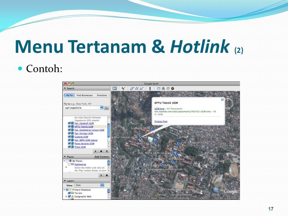Menu Tertanam & Hotlink (2)