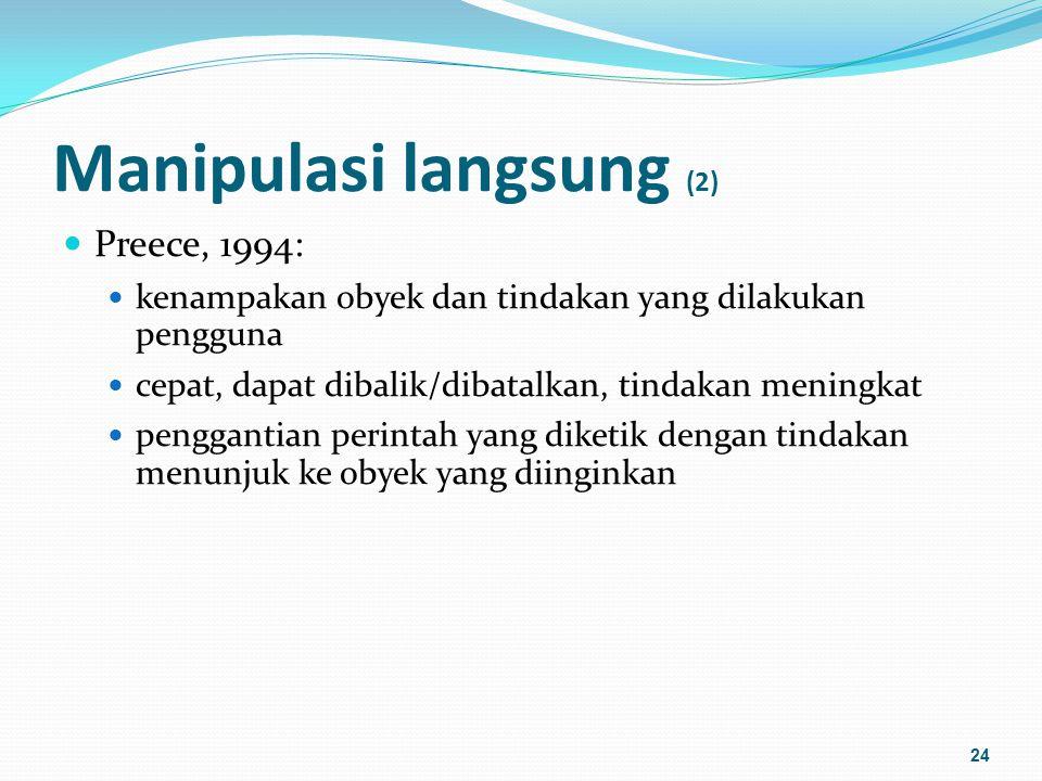 Manipulasi langsung (2)