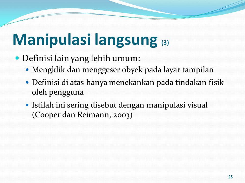 Manipulasi langsung (3)