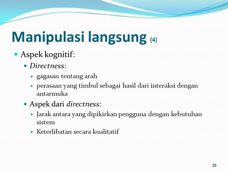 Manipulasi langsung (4)