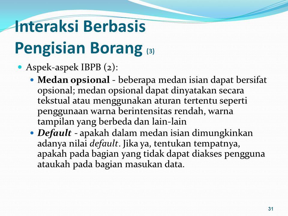 Interaksi Berbasis Pengisian Borang (3)