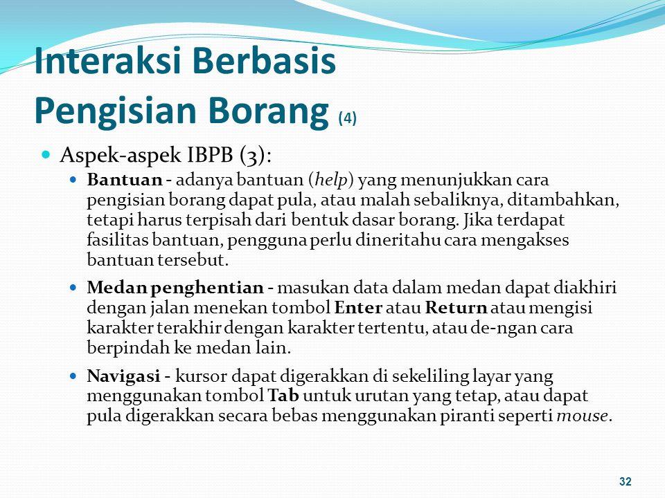 Interaksi Berbasis Pengisian Borang (4)