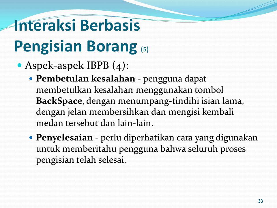 Interaksi Berbasis Pengisian Borang (5)