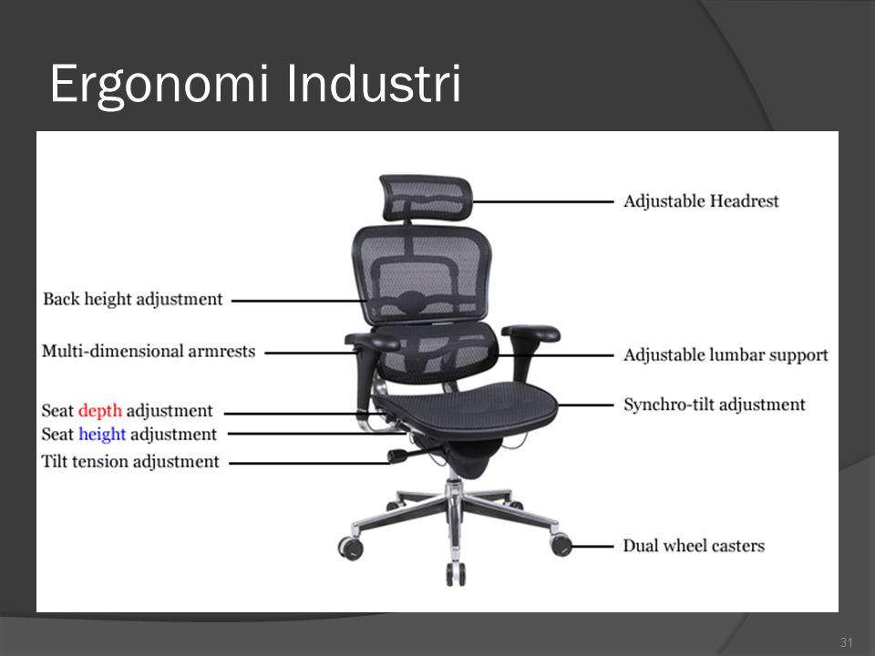 Ergonomi Industri