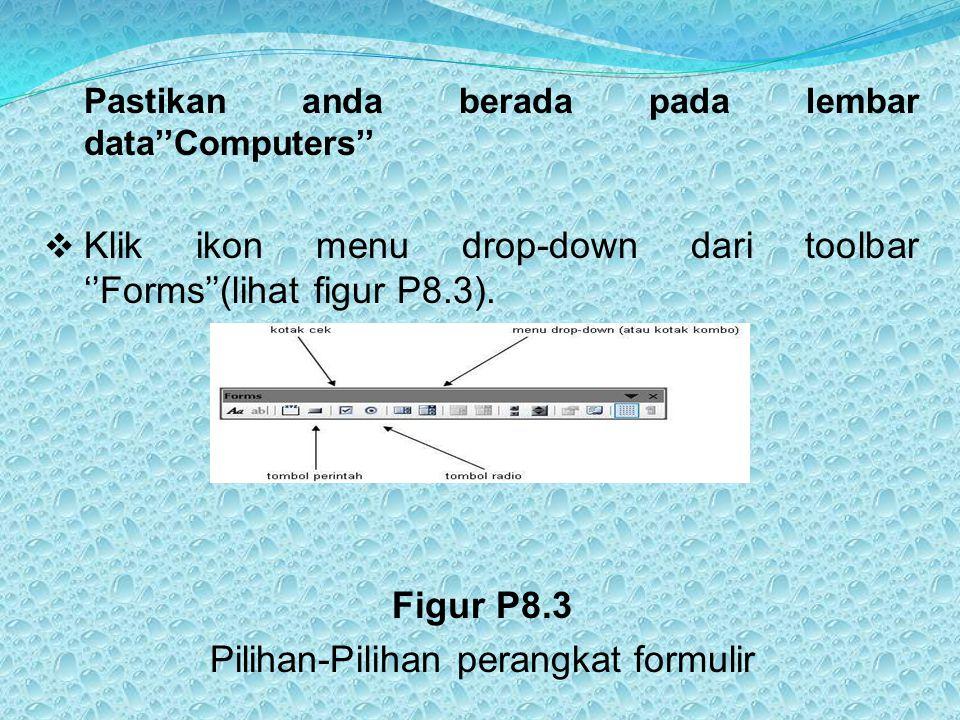 Pilihan-Pilihan perangkat formulir