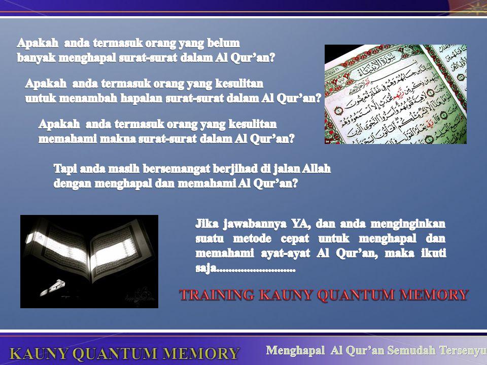 KAUNY QUANTUM MEMORY TRAINING KAUNY QUANTUM MEMORY