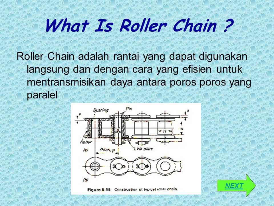 What Is Roller Chain
