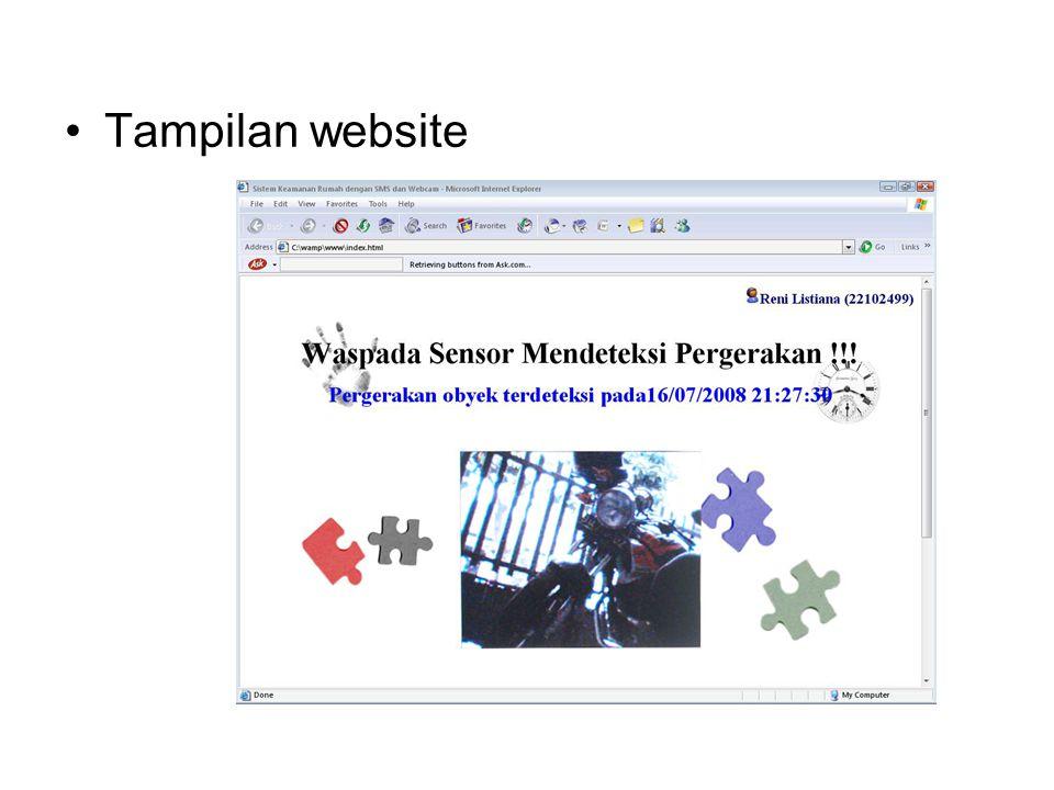 4/9/2017 Tampilan website