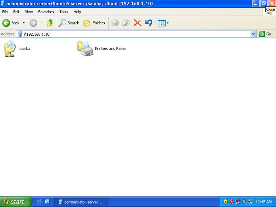 Jelaskan dan lakukanlah konfigurasi SWAT (Samba Web Administration Tool) ..