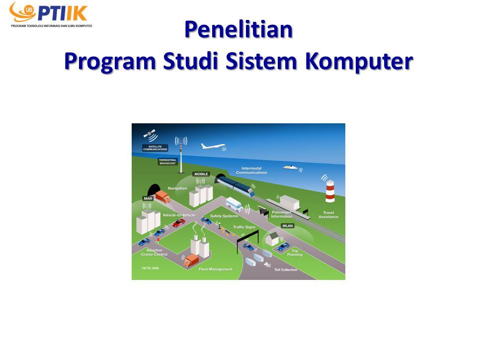 Penelitian Program Studi Sistem Komputer