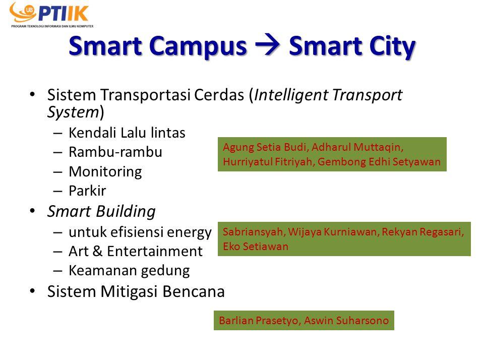 Smart Campus  Smart City