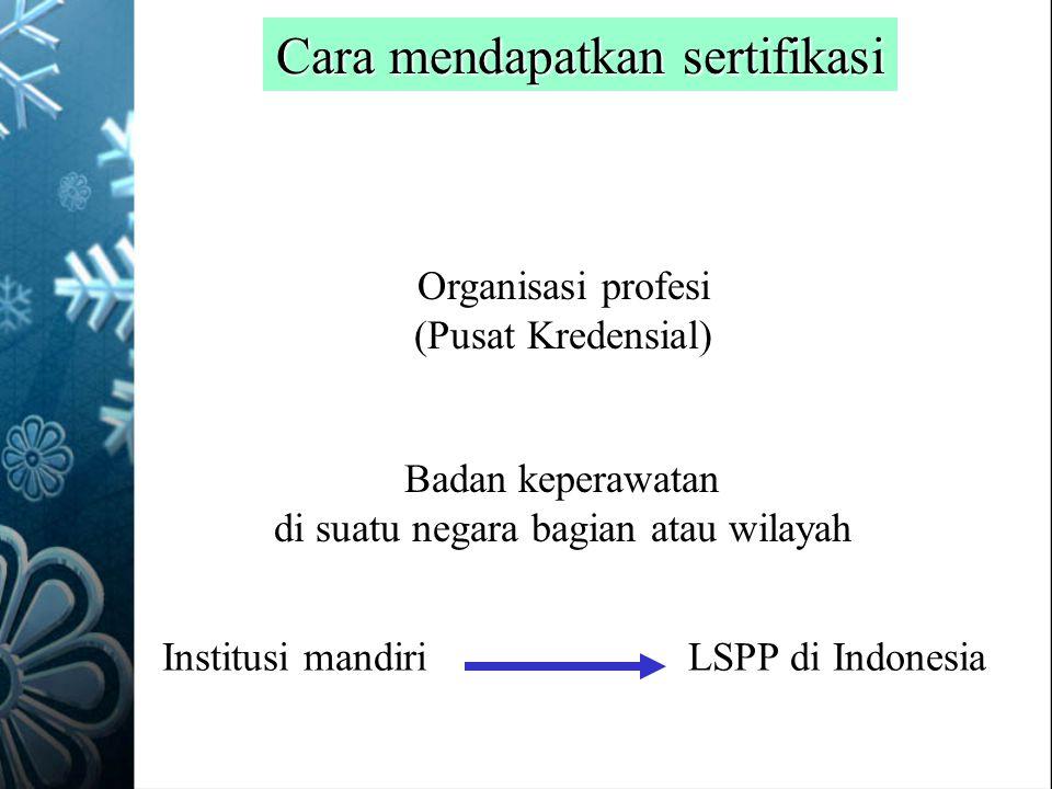 Cara mendapatkan sertifikasi